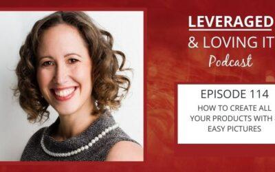 Ep 114. How To Create All Your Products With 4 Easy Pictures