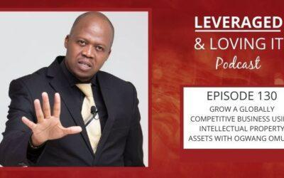 Ep 130. Grow a globally competitive business using Intellectual Property assets with Ogwang Omuga.