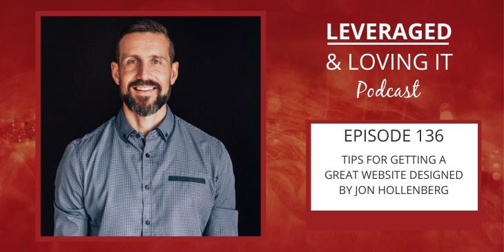 Jon Hollenberg a white man with a beard wears a grey shirt and is smiling directly at the camera. There's a red fiery background with the name of the podcast on the right.