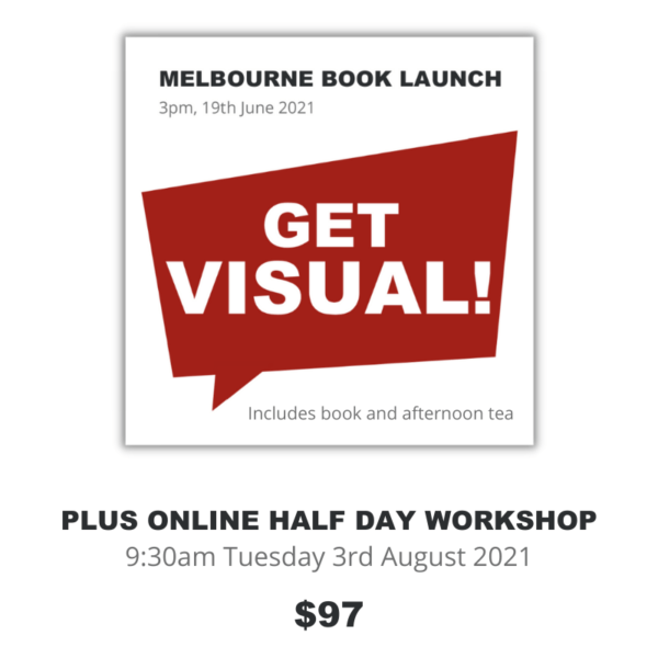Melbourne Book Launch plus half day workshop Product Image